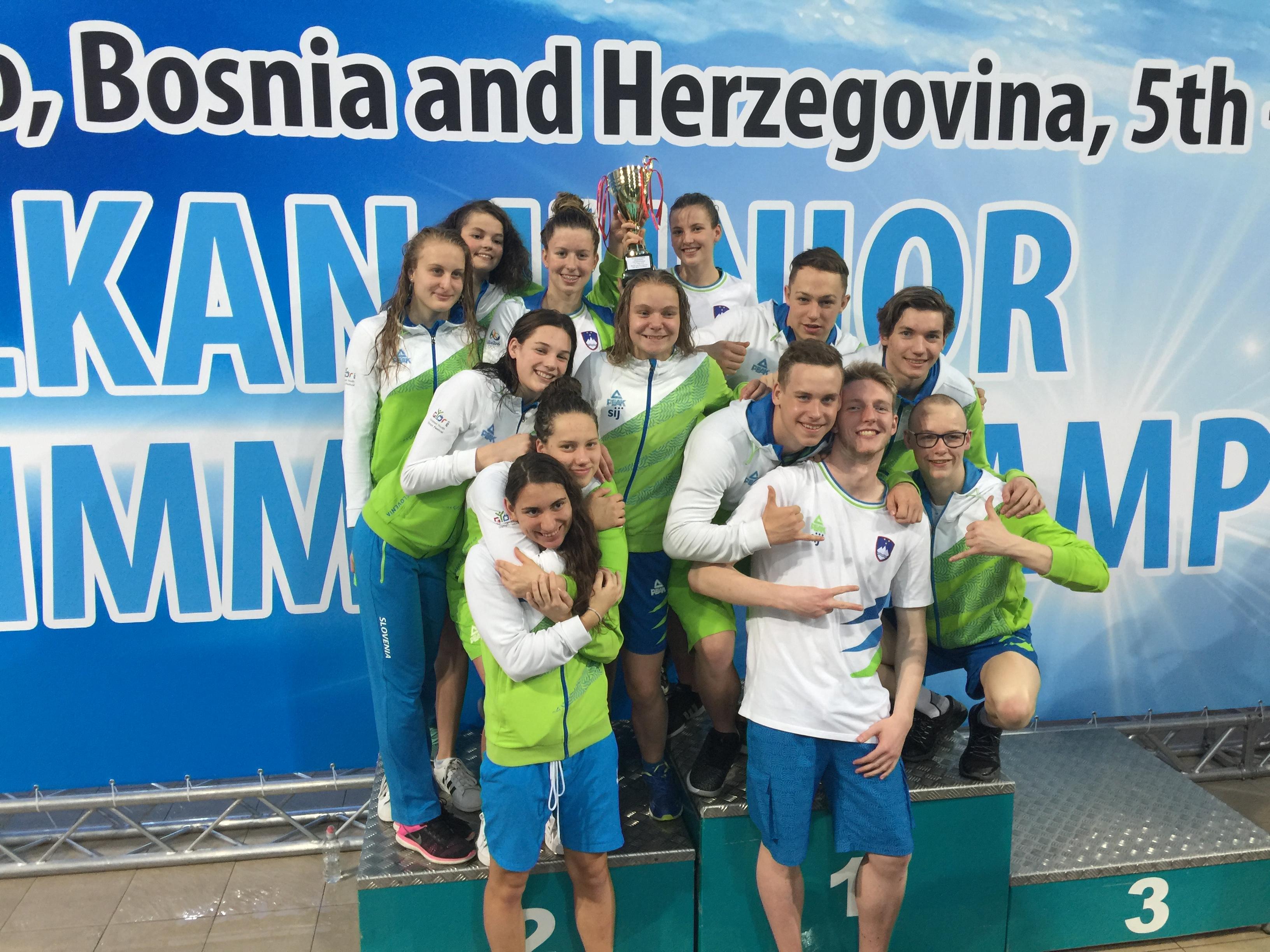 Tina balkanska prvakinja z balkanskim rekordom