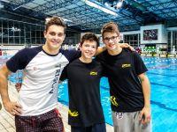 Trije državni rekordi domačih plavalcev v Kranju