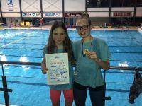 Zoja in Sergeja osvojile stopničke na DP za dečke in deklice