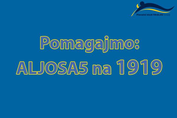 Pomagajmo: ALJOSA5 na 1919